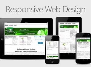 Desain Web Responsif HPA Network