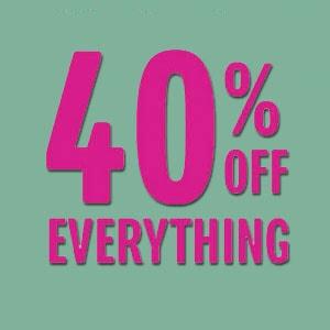 Discount 40% Untuk Member