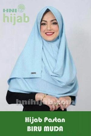 Hijab Pastan Biru Muda