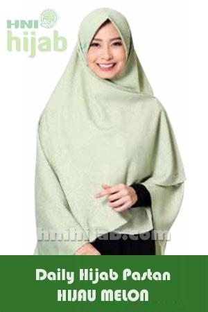 Hijab Daily Pastan Hijau Melon