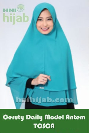 Hijab Ceruty Daily Model Antem Tosca