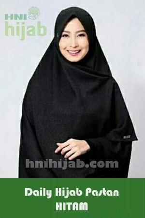 Hijab Daily Pastan Hitam