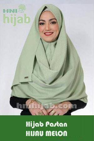 Hijab Pastan Hijau Melon