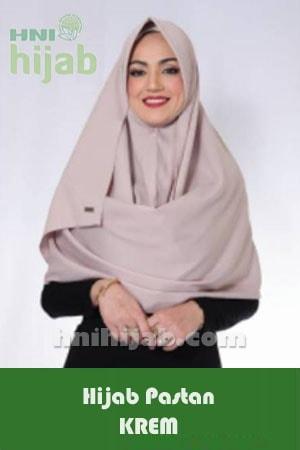 Hijab Pastan Krem