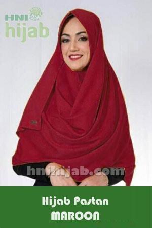 Hijab Pastan Maroon
