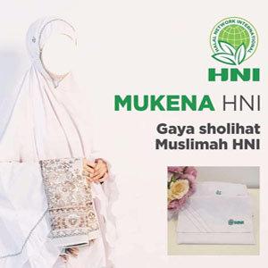 Detil Mukena HNI