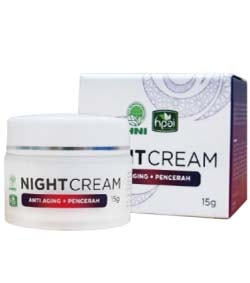 Produk HNI HPA Indonesia Beauty Night Cream