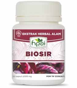 Produk HPA Indonesia Biosir Obat Wasir