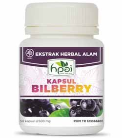 Bilberry Kapsul HPA Indonesia