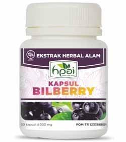 Produk HNI HPA Indonesia Kapsul Bilberry