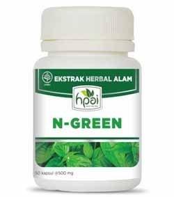 Produk HPA Indonesia N-Green  Klorofil Kapsul