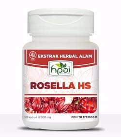 Rosella HS Kapsul HPA Indonesia